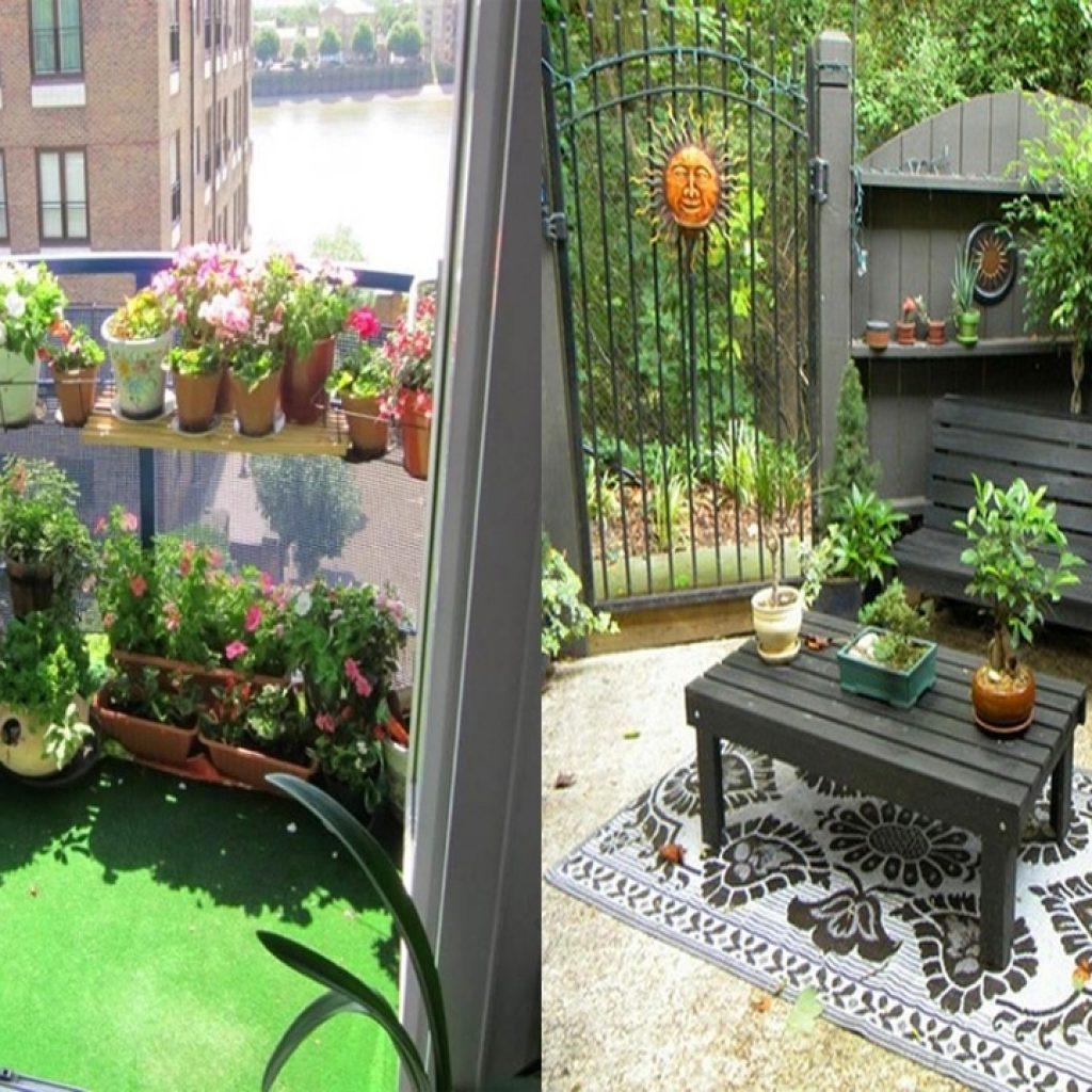Apartment patio decorating ideas