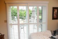 White Sliding Patio Door Blinds Bellflower Themovie throughout dimensions 1600 X 1200
