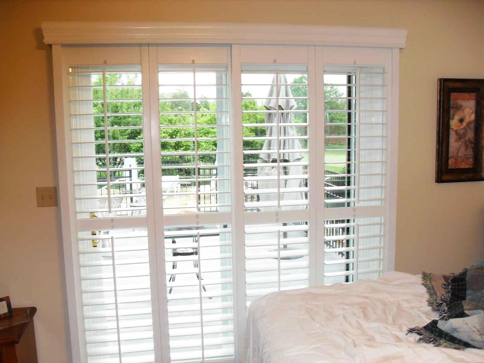 Indoor Patio Door Blinds Patio Ideas