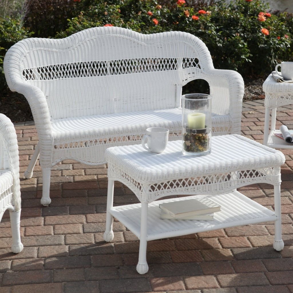 Merveilleux White Wicker Patio Furniture Allin The Details Outdoor Touch Within  Measurements 1024 X 1024