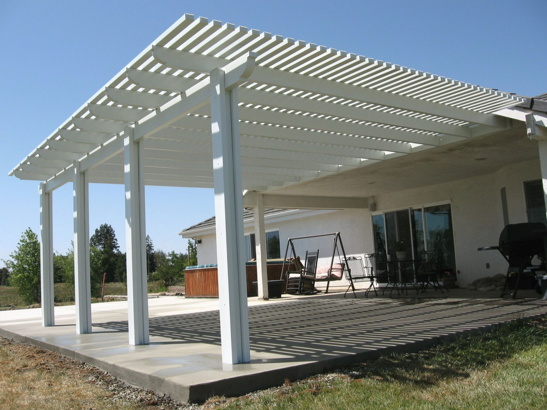 Beau Wood Lattice Patio Cover Designs Patio Designs With Proportions 1764 X 1323