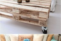12 Easy Pallet Sofas And Coffee Tables To Diy In One with dimensions 680 X 1275