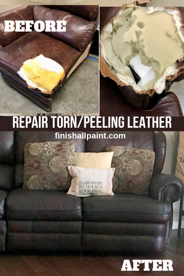 Bond N Flex Kit Finish All In One Paint Leather Couch pertaining to proportions 735 X 1102