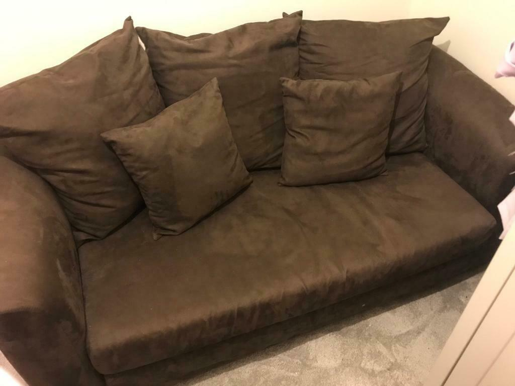 Brown 2 Seater Sofa Bed In Astley Manchester Gumtree throughout sizing 1024 X 768
