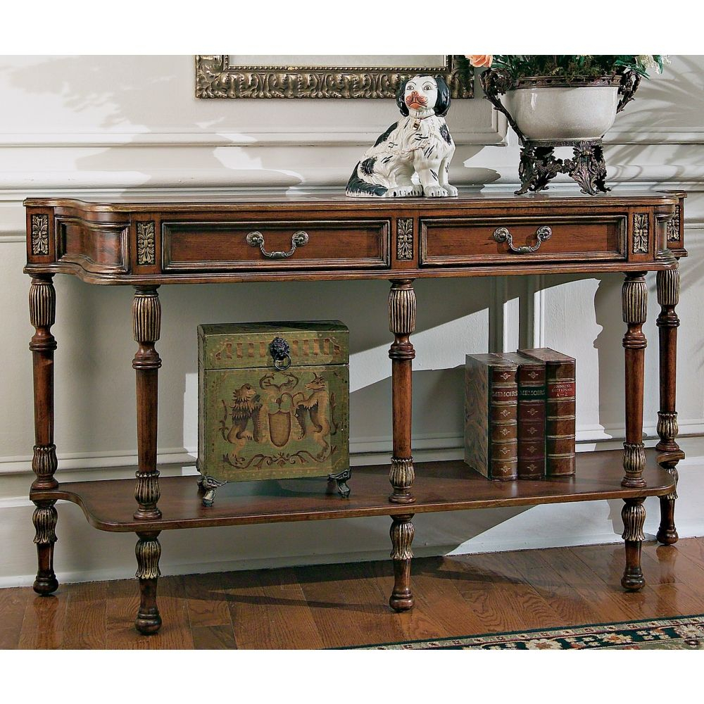 Butler Hallmark 33 High Console Table Style G2728 in size 1000 X 1000