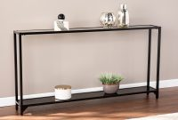 Carbon Loft Glenn Narrow Metal Console Table with dimensions 3000 X 3000