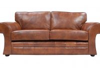 Cavan Real Leather Sofa Bed within measurements 1622 X 1014