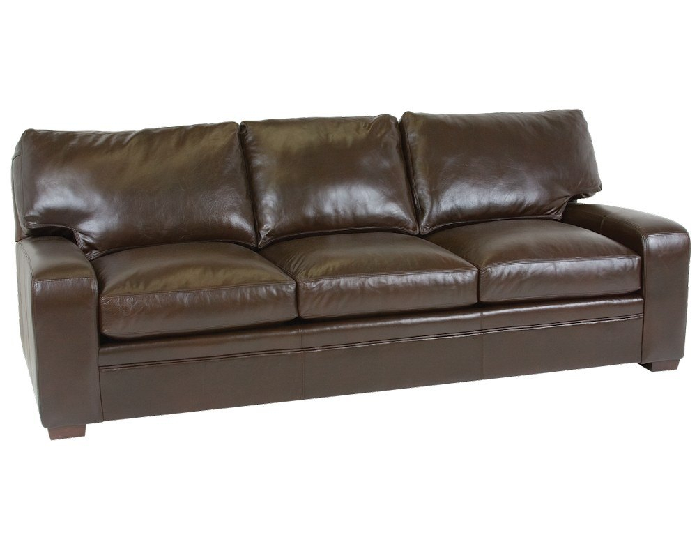 Classic Leather Vancouver Sofa 4513 Leather Furniture Usa regarding measurements 1000 X 800