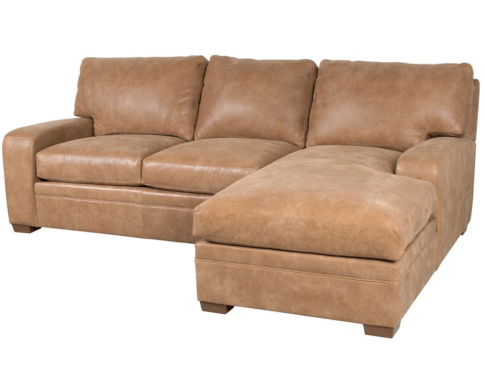 Classic Leather Vancouver Sofa Chaise 4511 Leather inside measurements 1000 X 800