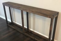 Console Table Sofa Table Hardwood Console Table Long within measurements 2668 X 2668