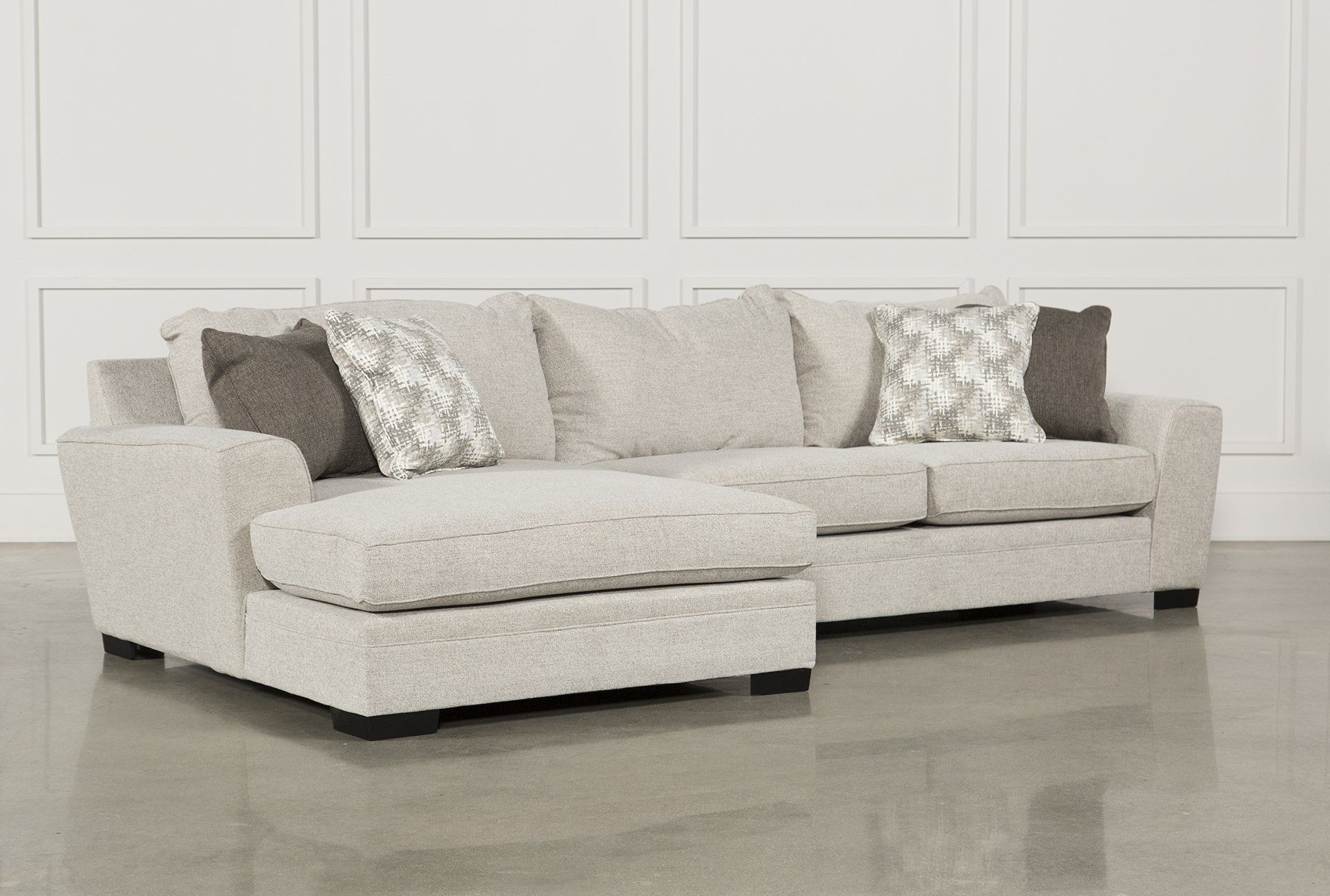 Delano 2 Piece Sectional Wlaf Oversized Chaise Sectional inside sizing 1911 X 1288
