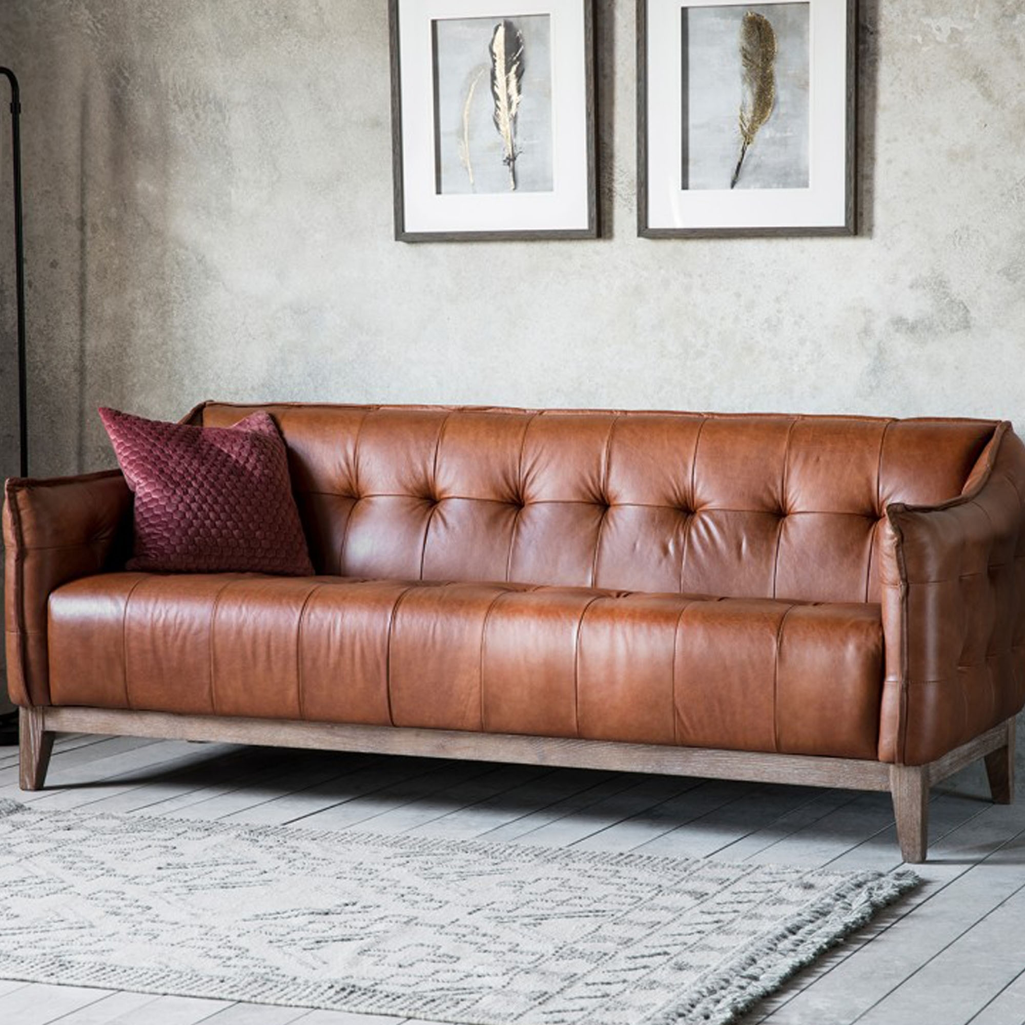 Ecclestone 3 Seater Sofa intended for size 2000 X 2000