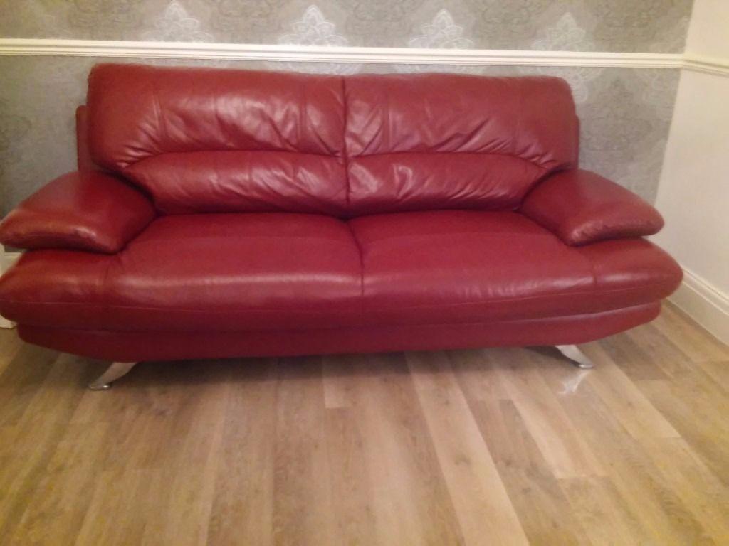 Harveys Red Leather Sofa Patio Ideas