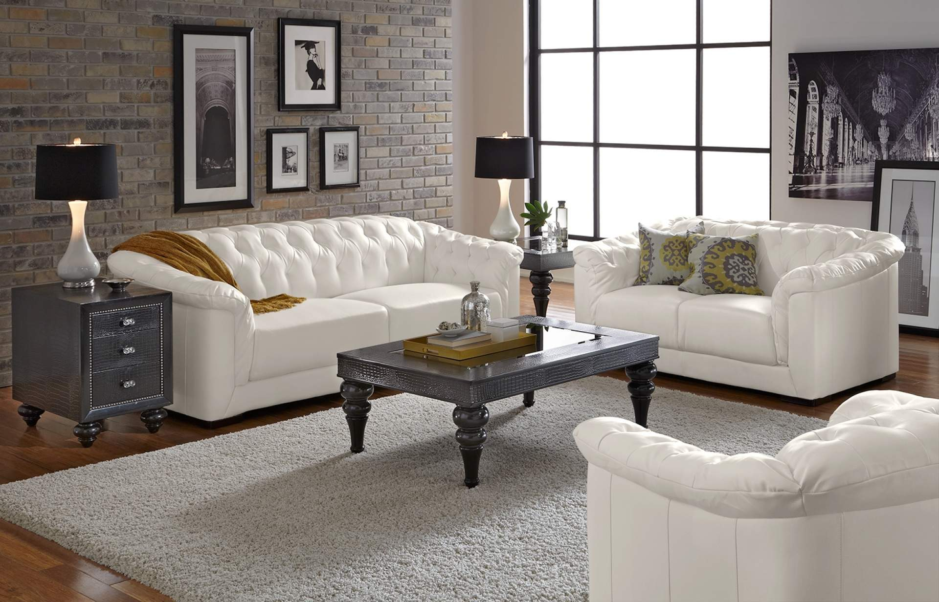 Furniture White Living Room Wall Themes Combined Black within sizing 1920 X 1232