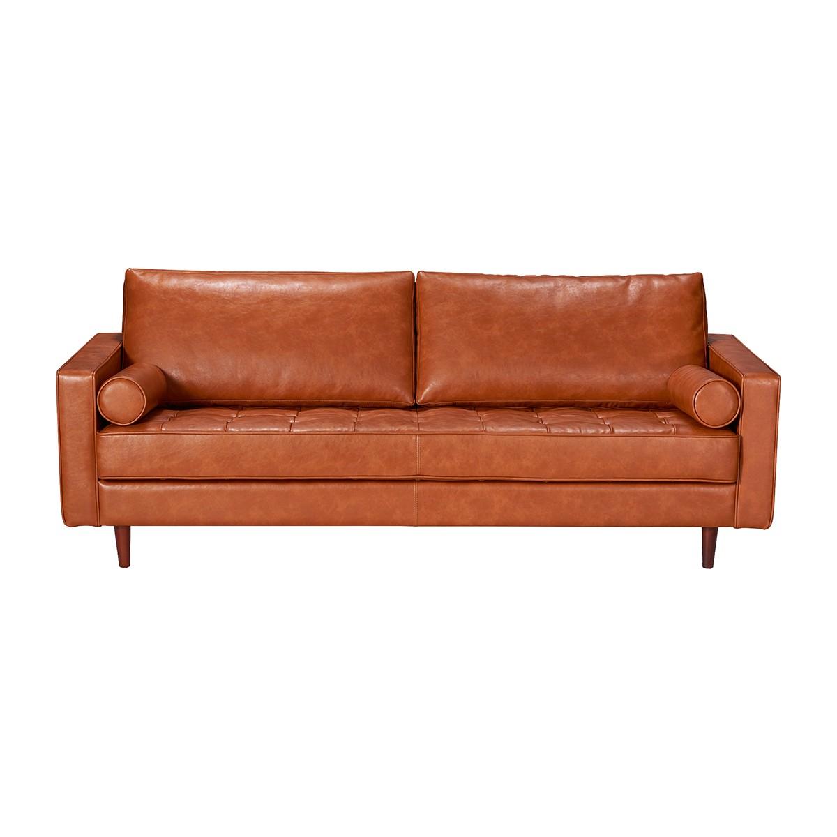 Tan Leather Sofa Au Patio Ideas