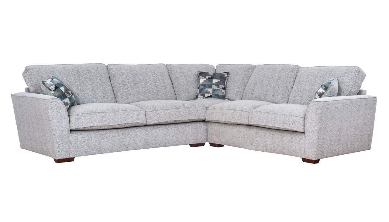 Hepburn Standard Back Large Corner Sofa Bed in size 1280 X 732