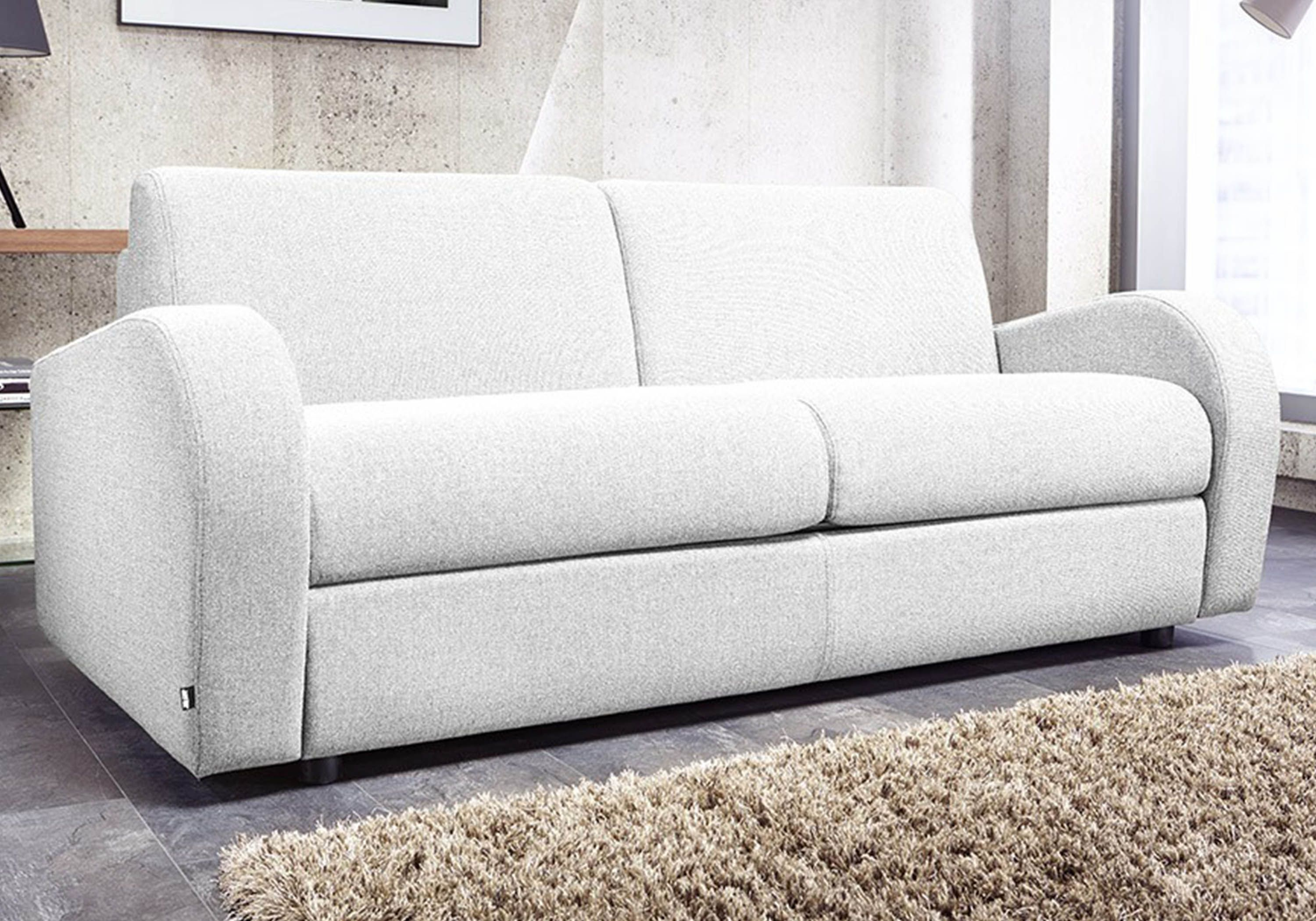 Jay Be Retro Deep Sprung 3 Seater Sofa Bed inside proportions 3000 X 2100