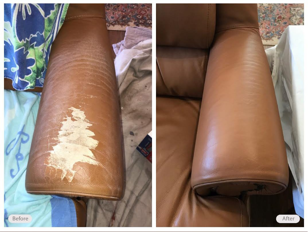 Leather Repair For Furniture Couches Sofas Fibrenew inside sizing 1074 X 810