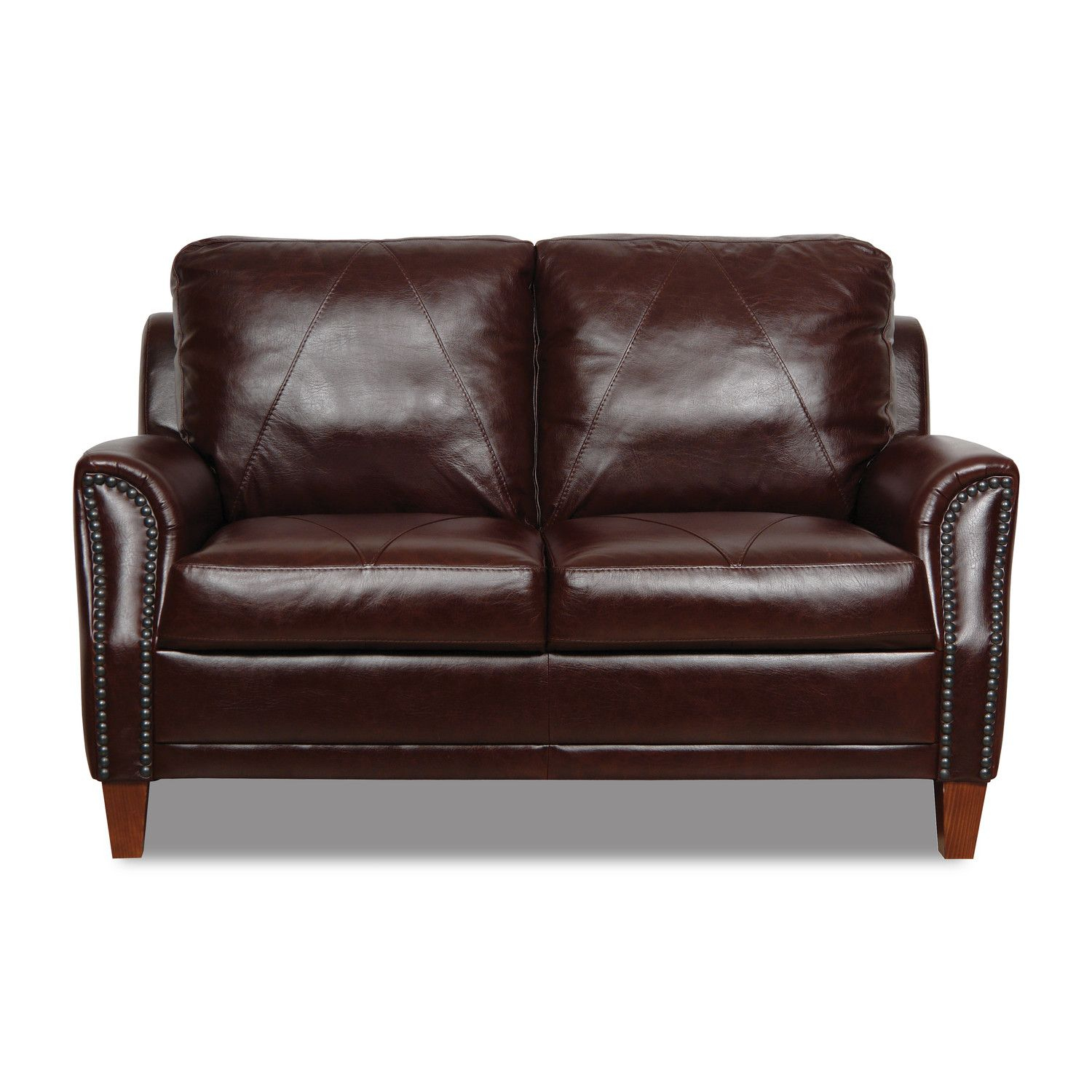Luke Leather Austin Leather Modular Loveseat A Den intended for sizing 1500 X 1500