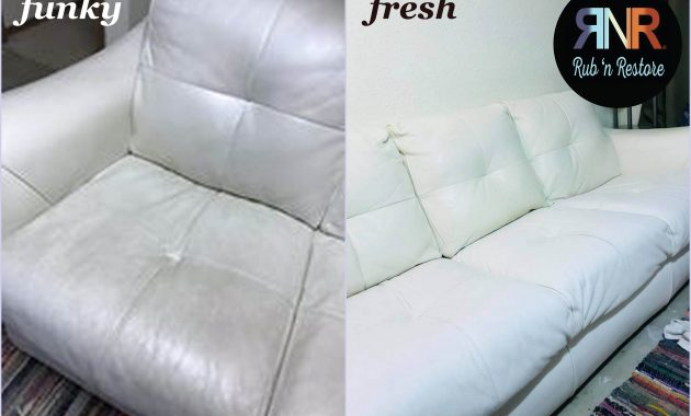 White Leather Sofa Restorer Patio Ideas