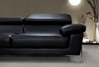 Modern Black Leather Sofa Set Vg724 Leather Sofas with dimensions 1100 X 787