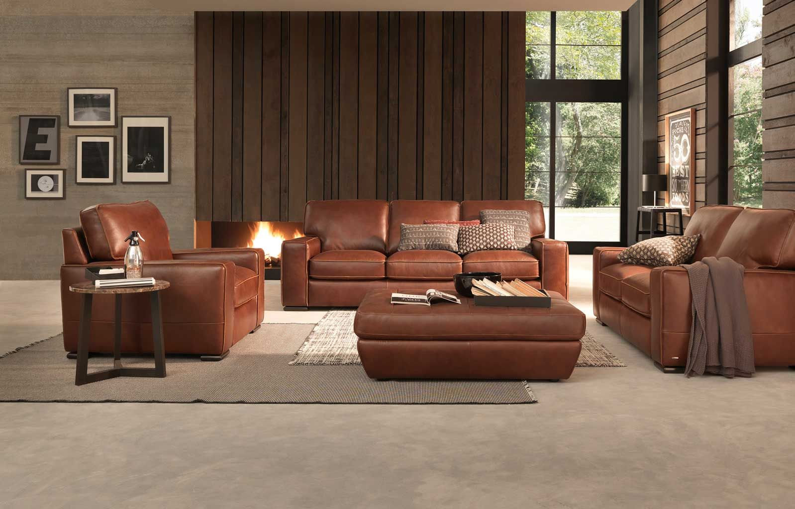 Natuzzi Editions Leather Sofa Bed Brown Leather Sofa Bed for sizing 1598 X 1024