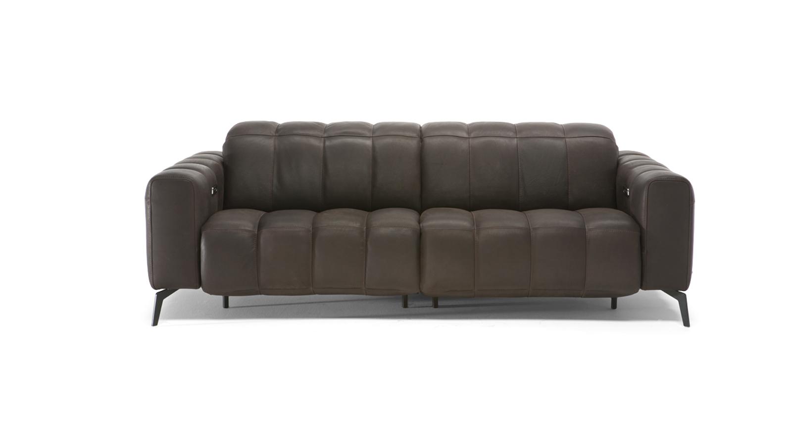 Natuzzi Editions Portento Reclining Sofa Bracko Home for dimensions 1600 X 886