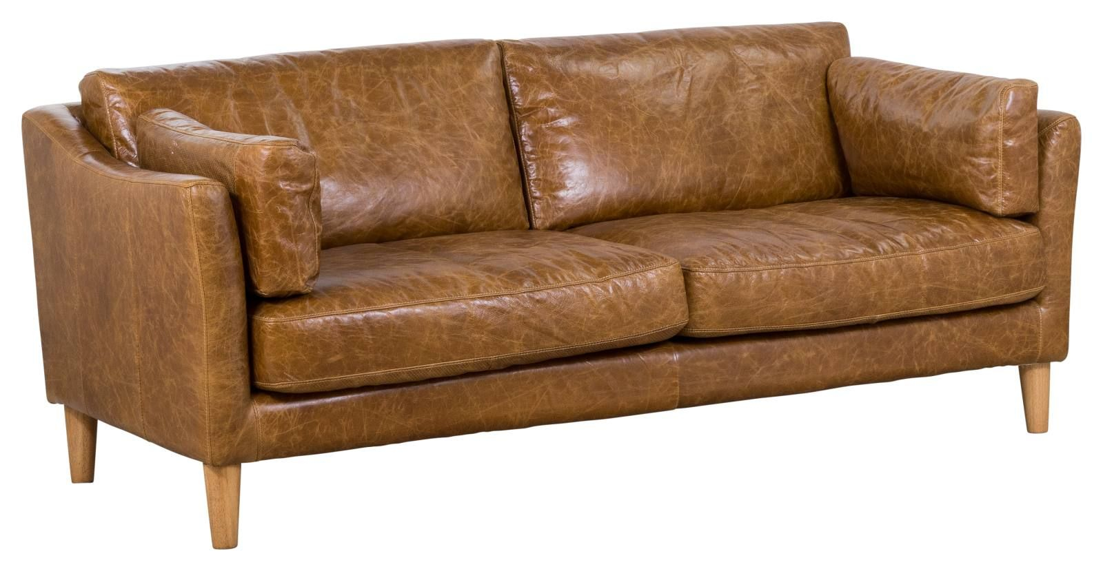 Nordic 3 Seater Leather Sofa Leather Sofas Armchairs In throughout dimensions 1600 X 829