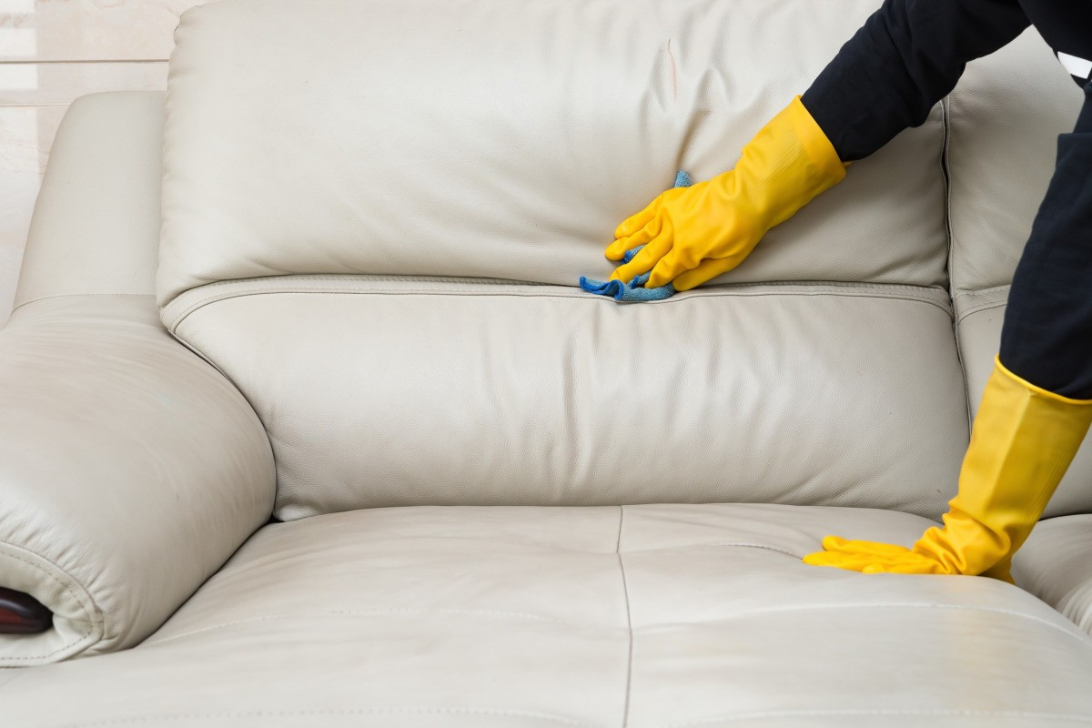 Removing Dried Paint From A Leather Sofa Thriftyfun inside proportions 1200 X 800