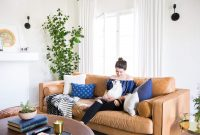 Saras Living Room Reveal Emily Henderson throughout measurements 2500 X 1667