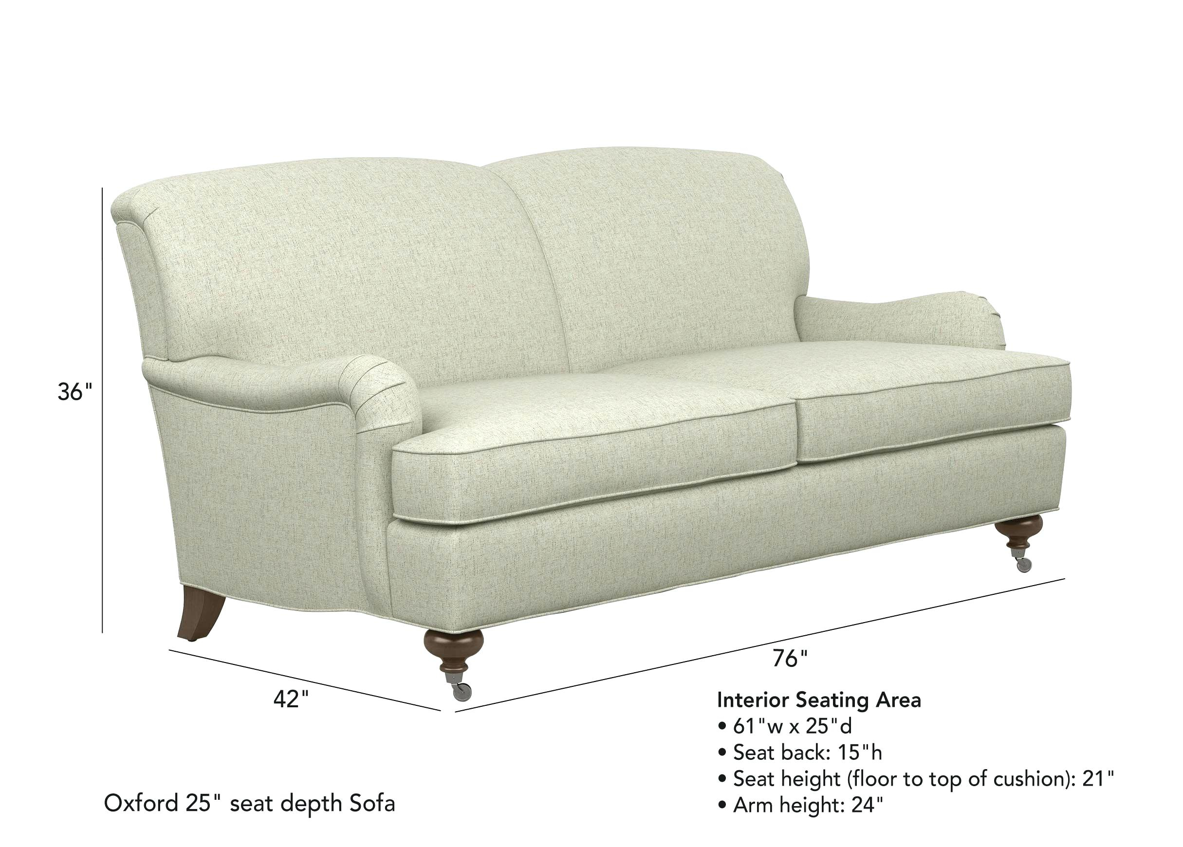 Small Depth Sofa Adelinepalombaco regarding dimensions 2430 X 1740