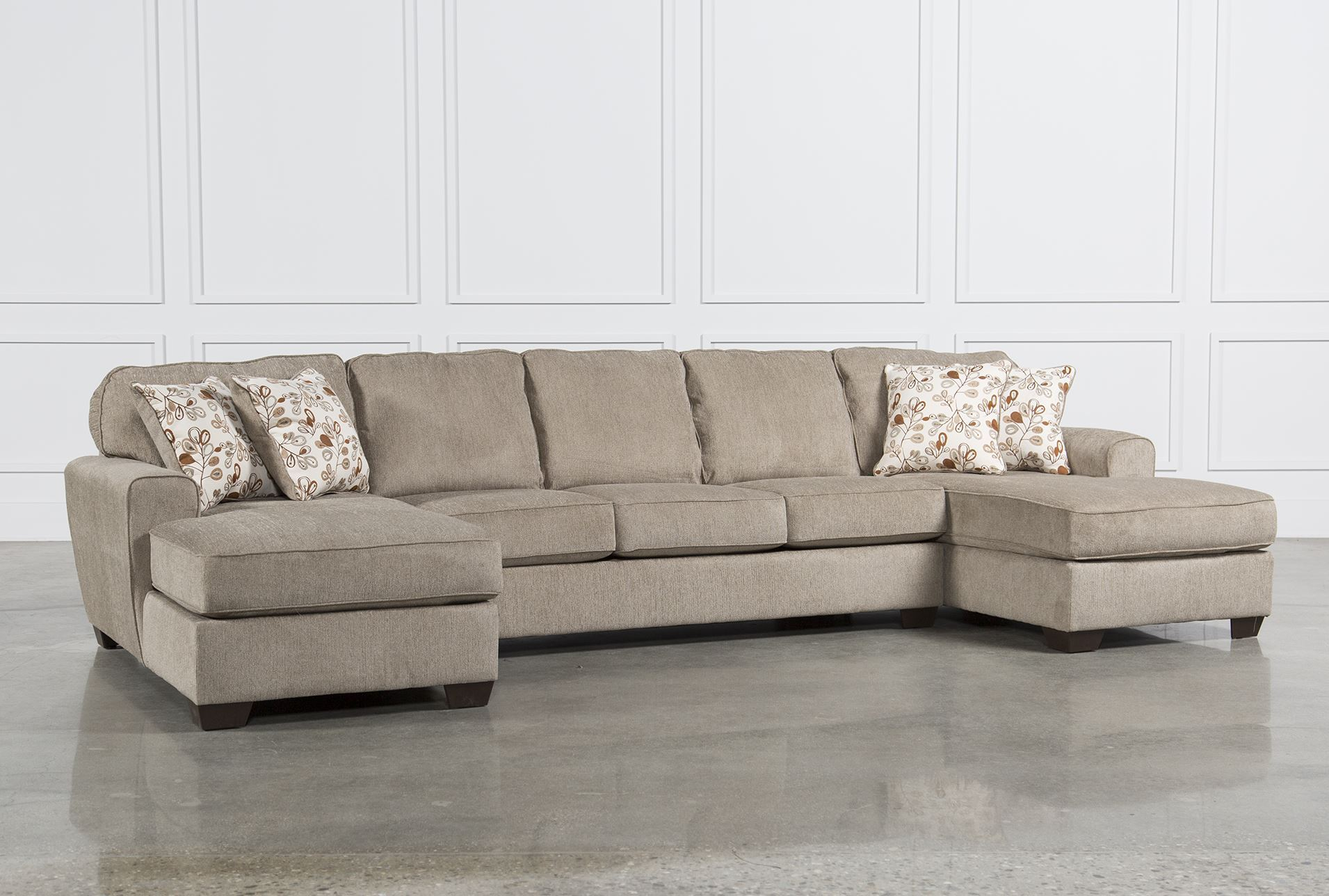 Sofas Beautiful Interior Decor Using Ivory Sectional with regard to size 1911 X 1288