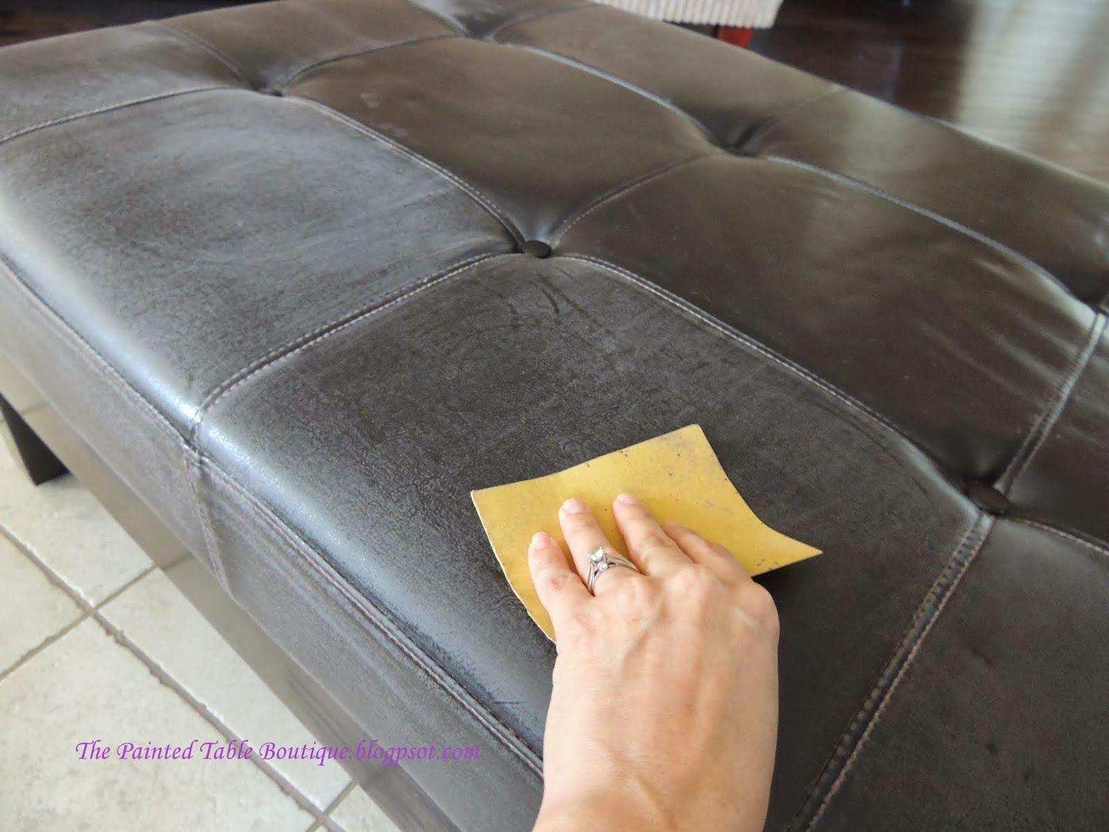 Faux Leather Sofa Dye Patio Ideas