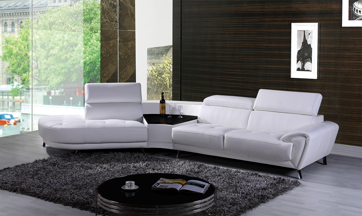 Why Buying A White Leather Sectional Couch Is A Good Idea intended for size 1200 X 718