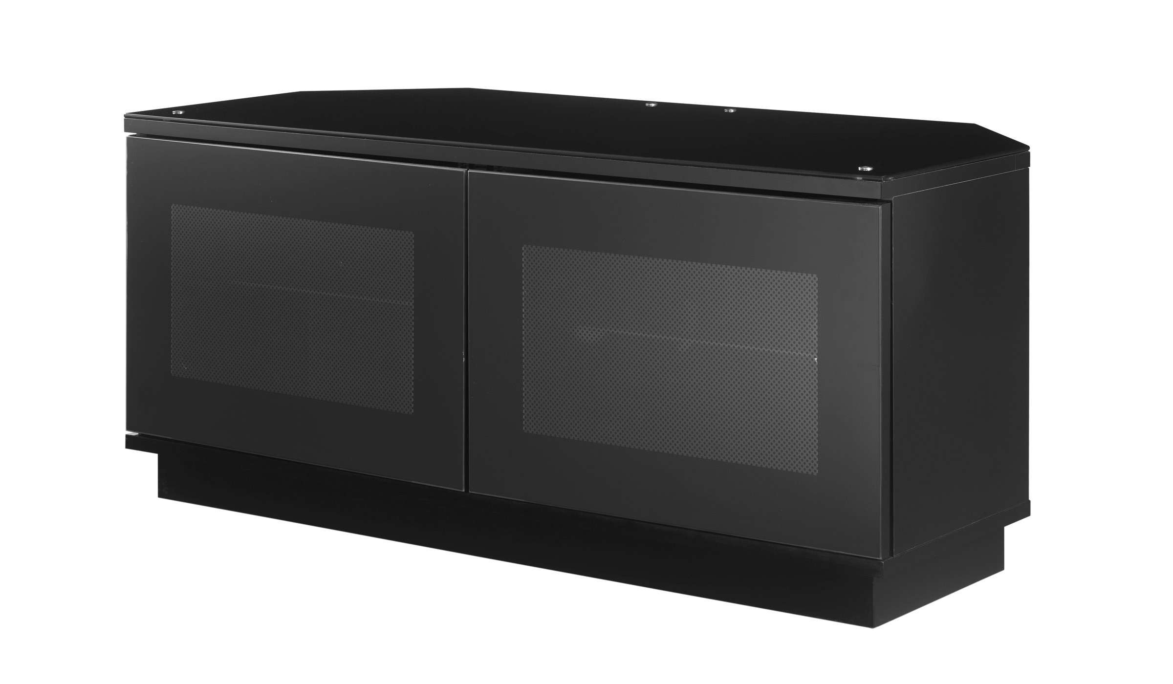 2020 Latest Black Tv Cabinets With Doors in sizing 2400 X 1400