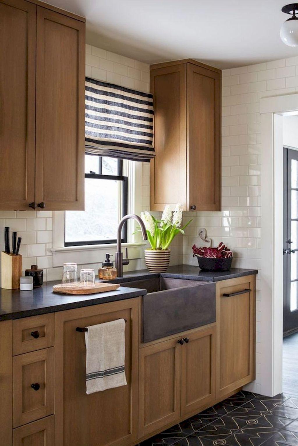 57 Modern Farmhouse Kitchen Cabinet Makeover Design Ideas In regarding size 1024 X 1534