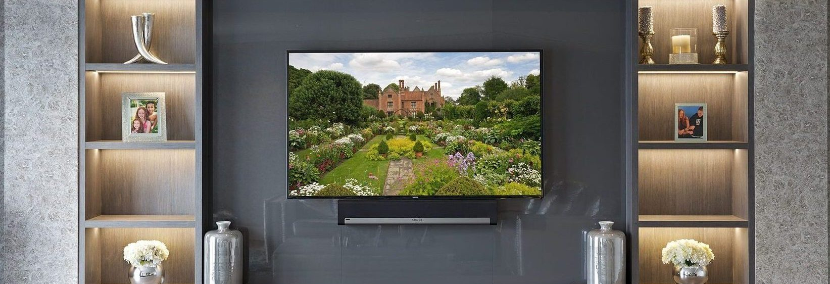 Bespoke Entertainment Rooms And Tv Units The Wood Works for proportions 1643 X 562
