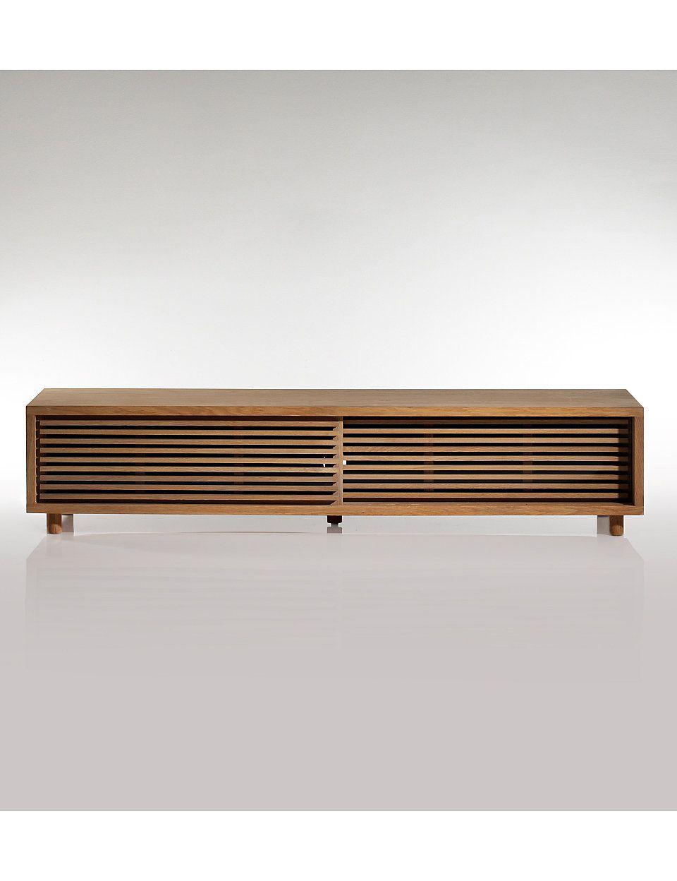 Conran Aiken Slatted Tv Cabinet Tv Cabinets Oak Tv with dimensions 960 X 1248