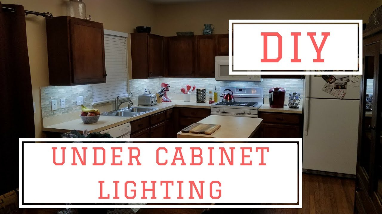 Installing Diy Under Cabinet Lights For Under 75 throughout sizing 1280 X 720