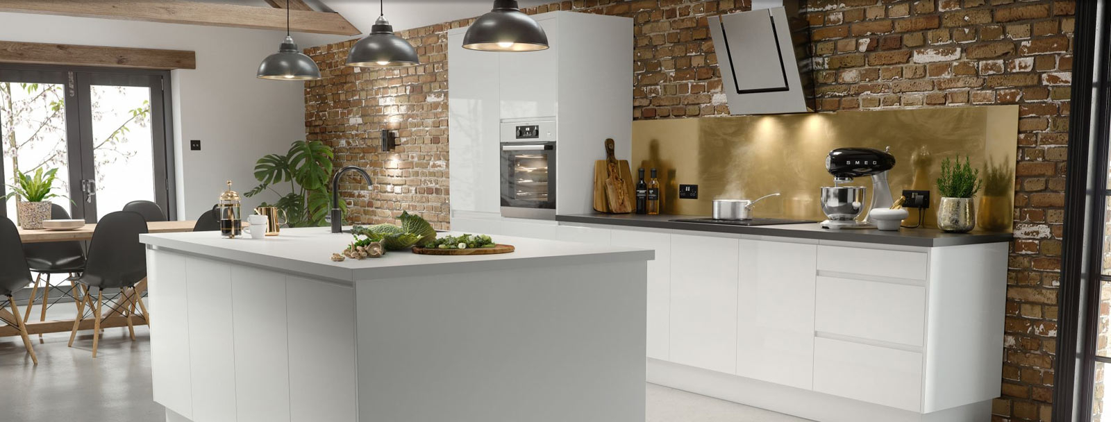 Kitchens Vaughan Kitchen Design Renovation with regard to proportions 1600 X 608