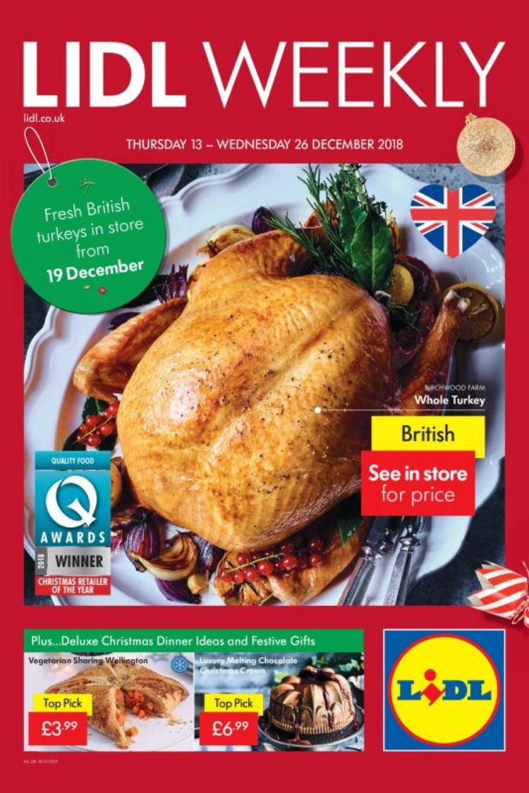 Lidl Offers Leaflet 13th 26th December 2018 Lidl Whole for dimensions 750 X 1125