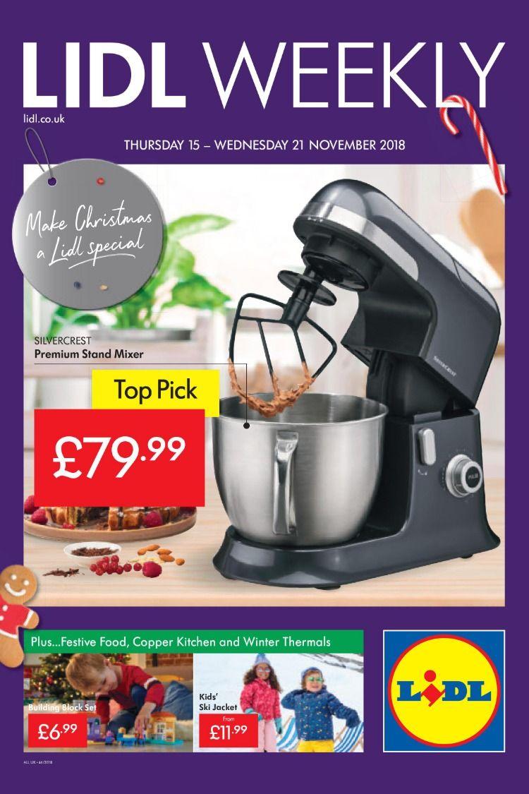 Lidl Offers Leaflet 15th 21rd November 2018 Lidl Food for dimensions 750 X 1125