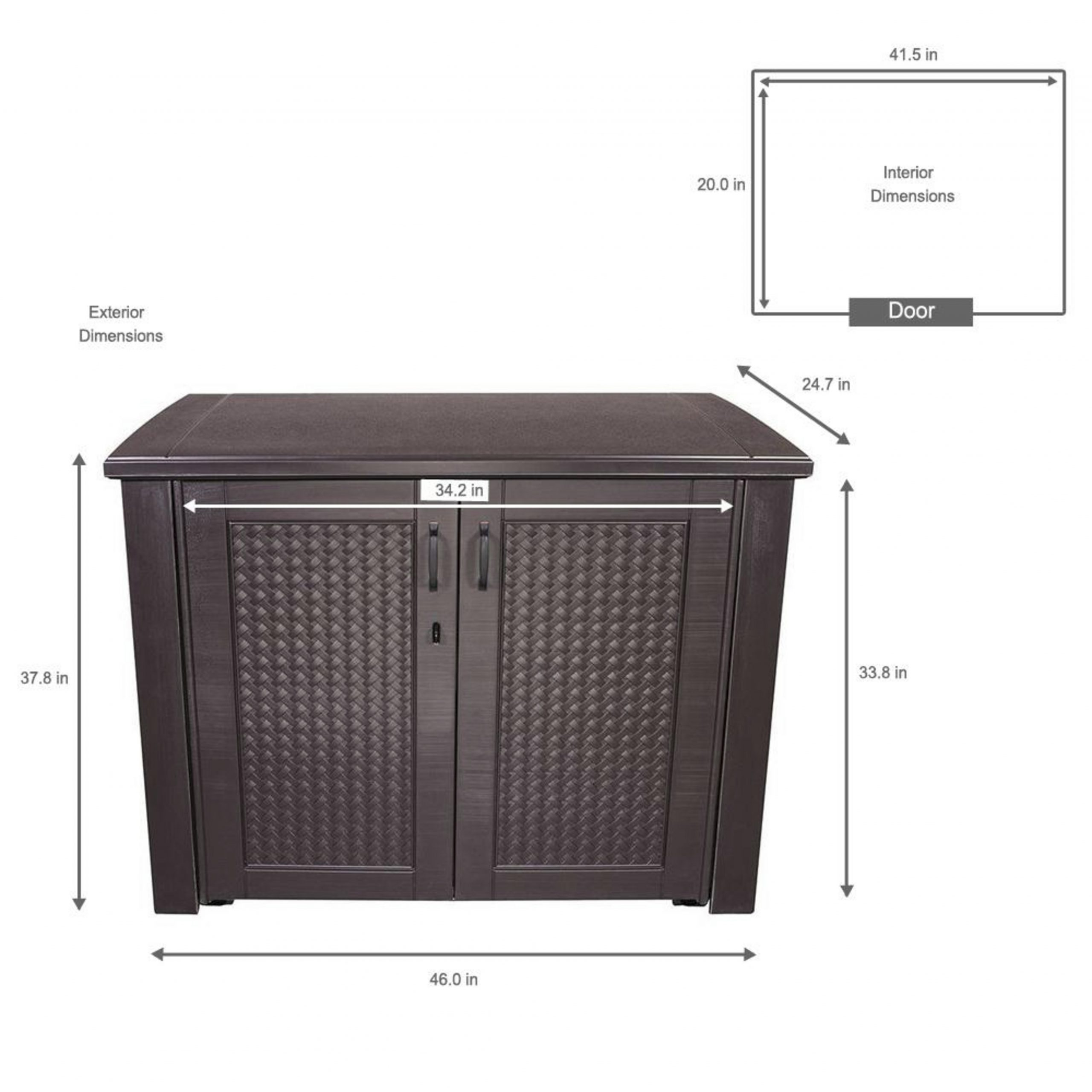 Rubbermaid Brown Patio Storage Cabinet Patio Ideas