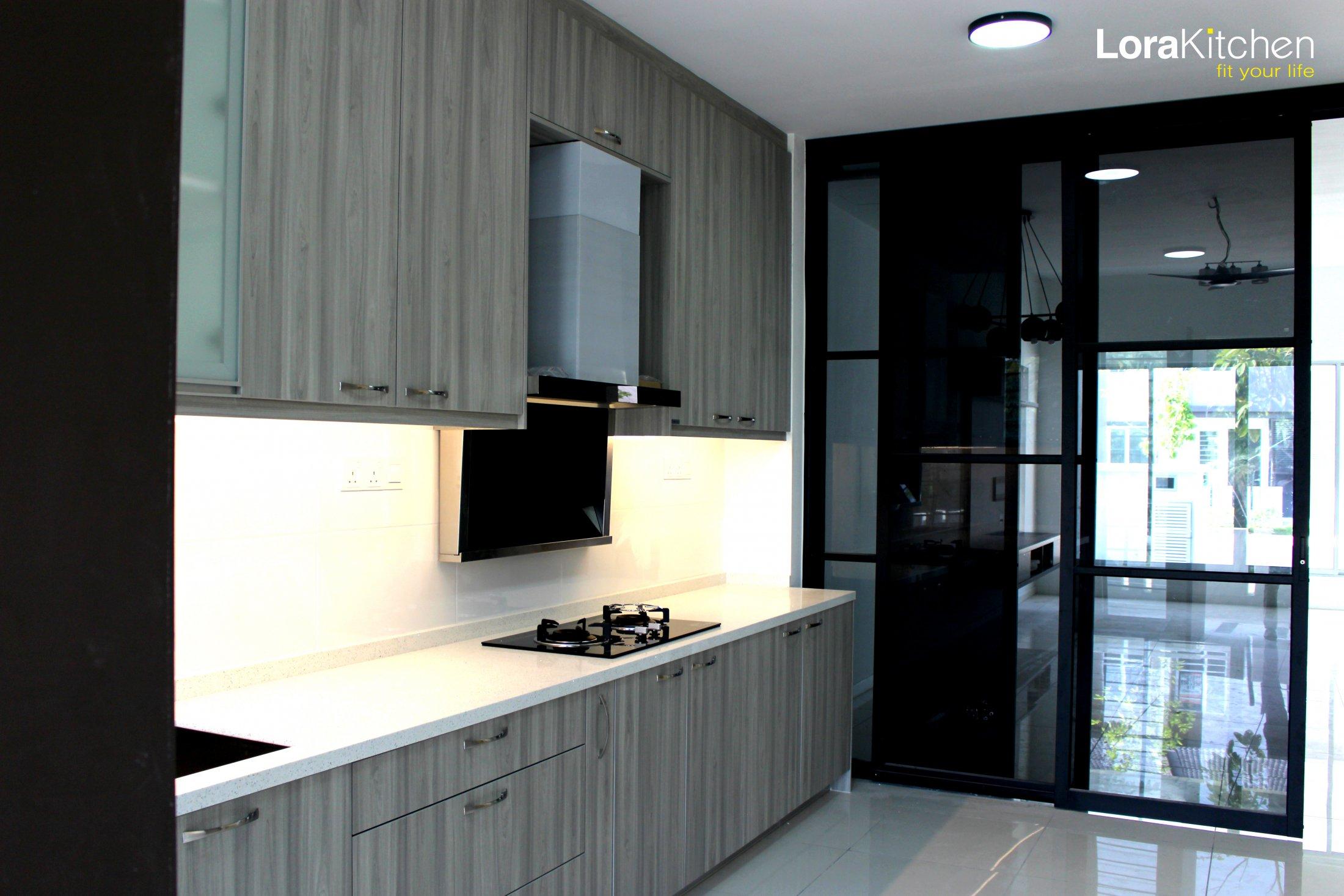 kitchen cabinet design in malaysia • patio ideas
