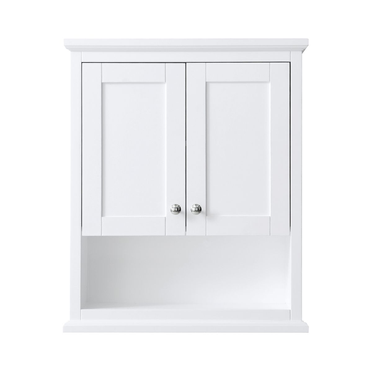 Wall Mounted Bathroom Storage Cabinet In White inside proportions 1200 X 1200